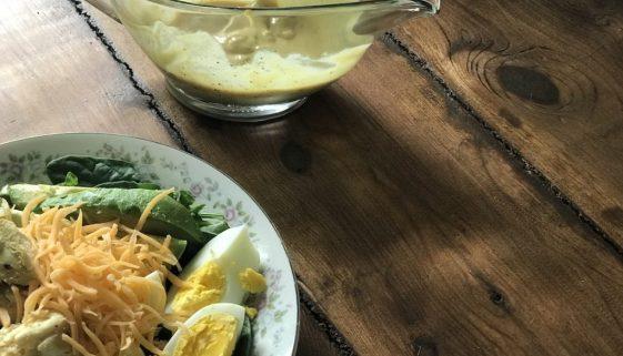 molho salada